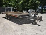 2010 American 7 ton Hi-Deck Tandem Tag Trailer, SN:1A9UG20A9A1668493, 8'x20