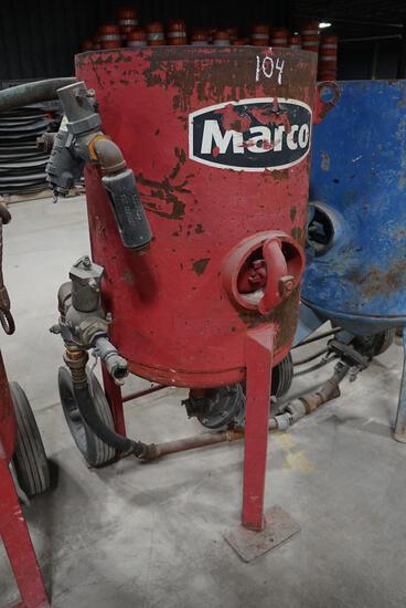 2008 Marco M6 Sand Blast Pot