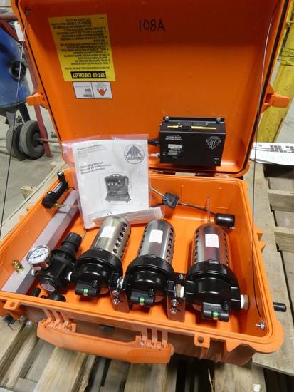 AIR Systems Air Filtration, Regulator, Monitor Model: BB100-C08, SN:32951,
