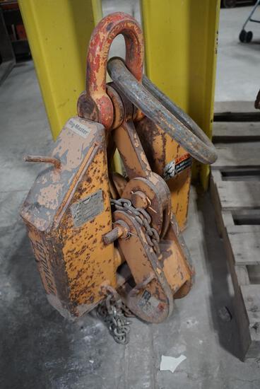 Caldwell I-Beam Clamp (15 ton)