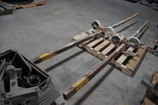 Large Parapet Scaffolding