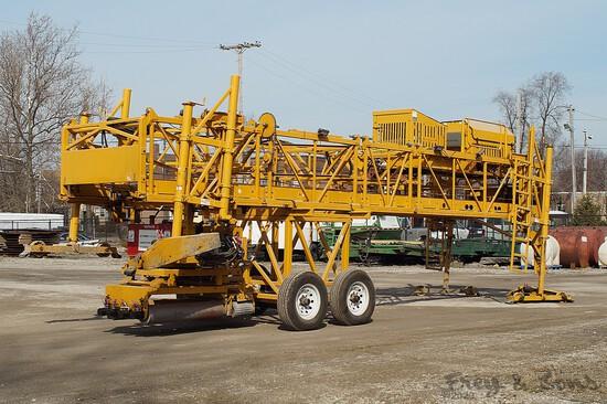 2016 Bidwell 3600 Bridge Deck Finisher, SN:530. 173 Total hrs on upper engi