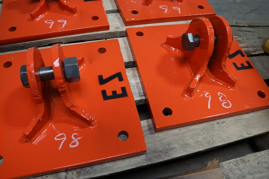 (2) EZ Plates
