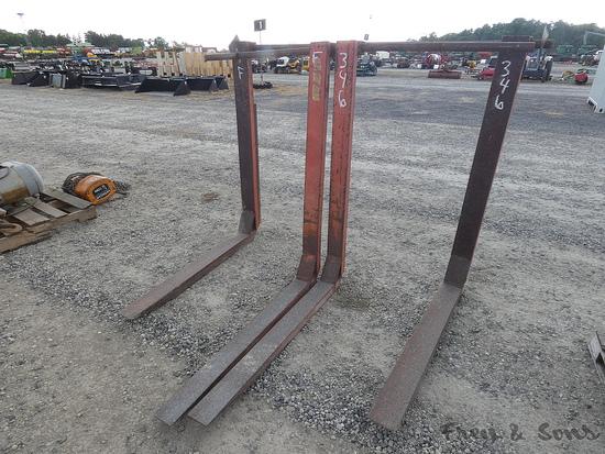 (2) Sets ClipOn Forks