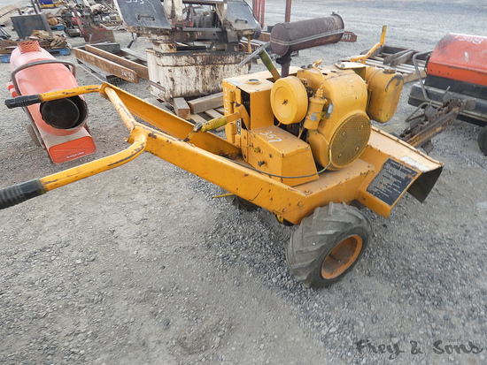 Case WB Trencher