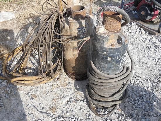 (2) 3'' Sub Pumps