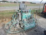 Whiteman MQ HHN84TV Riding Power Trowel, SN:021210268, Diesel