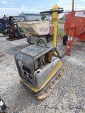 Wacker Neuson DPU5545 Plate Compactor, SN:10063131, Hatz Diesel