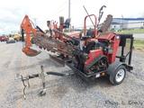 Toro TRX-20 WB Crawler Trencher, SN:314000106, 565 hrs, w/ 2012 Teske S/A t
