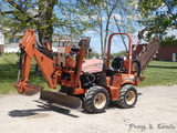 2005 Ditch Witch RT40 RT Trencher, SN:206, H314 Sideshift Trencher, A322 Ba