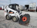 Bobcat S205 Skidloader, SN;53051131, Kubota Diesel, Hi-Flow Aux. Hyd, QT GP