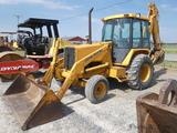 John Deere 310C Tractor Loader Backhoe, SN:742019, EROPS w/ Air, 2wd, Reads