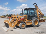 2008 Case 580SM-3 4x4 Tractor Loader Backhoe, SN:N8C505307, EROPS, 4wd, Ext