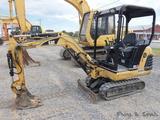 Cat 301.5 Mini Excavator, SN:3YW00503, OROPS, Aux. Hyd, 14'' Dig & 38'' Dit