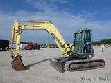 2007 Yanmar VIO75-A Hydraulic Excavator, SN 13257B, EROPS, Aux. Hyd, QT 12'