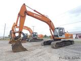 Hitachi EX270LC Hydraulic Excavator, SN:158-5844, JB Hendrix QT & 42'' Buck