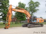 1995 Hitachi EX300LC-3 Hydraulic Excavator, SN:15L-7734, Isuzu Diesel, Aux.