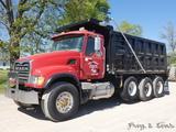 2005 Mack CV713 Granite Triaxle Dump Truck, SN:1M2AG11C85M033404, Mack AI-4