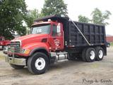2005 Mack CV713 Granite Tandem Dump Truck, SN:1M2AG11C85M022936, Mack AMT-3