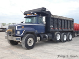 1996 Mack RD688S Triaxle Dump Truck, SN:1M2P267CITM026997, Mack E7 350 Dies
