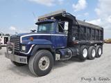 1995 Mack RD688S Triaxle Dump Truck, SN:1M2P267C45M022649, Mack E7 350 Dies
