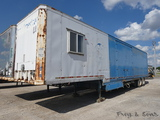 1980 Kentucky T/A Job Site (Moving) Trailer, SN:61141, Set up with trailer