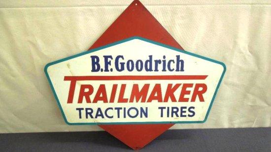 B F  Goodrich Trailmaker Sign     Auctions Online | Proxibid
