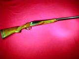 Churchill imported by Kassnar. Windsor I SxS shotgun in 10 ga. with DT and extractors  SN: 348732