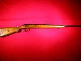 Mauser DSM34 Sport Model bolt action single shot rifle in .22 LR cal.  SN: 21476