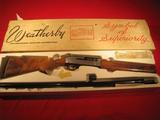 Weatherby Centurion II Ducks Unlimited 1980 Special Edition 12 ga. semi-auto shotgun  SN: 80-TM3074