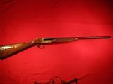 Winchester Model 23 Golden Quail SxS shotgun in 20 ga. with straight stock
