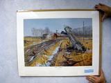Les C. Kouba Leavin' Shelter, Print, No. 3915/5000, Signed