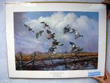 M. Wayne Wilis Smartweed Honey Hole - KS DU 1986 Sponsor Print, Print, No. 915/1200, Signed