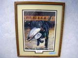 Steve Hamrick Duty Bound, Print, No. 13/4300, Signed, Framed