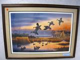 Jerry Raedeke In Your Dreams, Print, No. 90/300, Signed, Framed