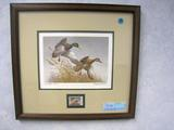 Maynard Reece Autumn Wings - Mallards - 1988 Nat'l Fish & Wildlife Found., Print, No. DU 151/3500