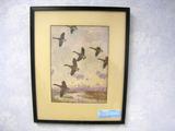 Frank W. Benson Against the Morning Sky, Print, Framed