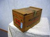 Winchester Western 12 ga. Wooden Ammo Box