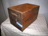 Western SuperX 12 ga. Wooden Ammo Box