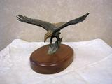 Eagle Bronze Statue, Bob Winship, No. 7 of 100