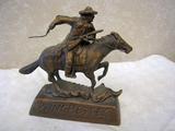 Winchester Bronze Statue