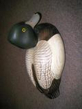 W Smith Bluebill Decoy, Win Stephens and Minnesota Ducks Unlimited, Special Edition 1991
