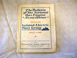 The Bulletin of the National Gas Engine Association, January 1920