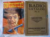 George Turner's Book of Gun Fighters, 1972 and Reinhard Brothers Company Radio Catalog No. 2