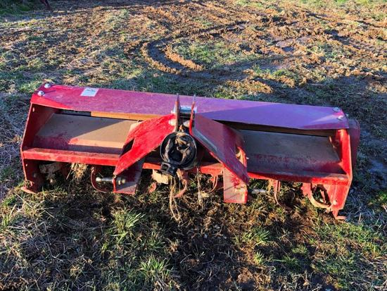 Howse 6 foot rotary tiller, 3 pt 540 PTO almost new