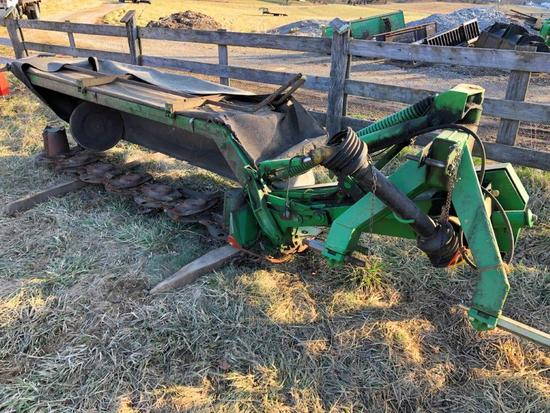 John Deere 275 disc mowers, 9 foot cut, 3 pt 540 PTO