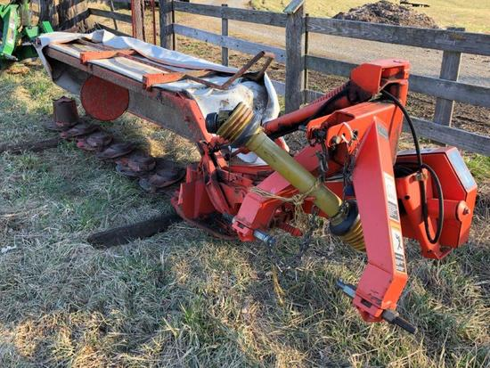 Kuhn 9 foot disc mower, 3 pt 540 PTO