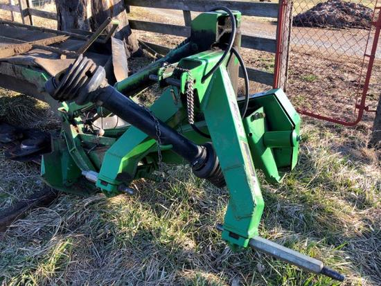 John Deere 275 disc mowers, 9 foot cut, 3 pt