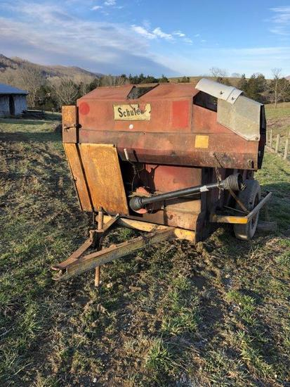 Schuler 175 BF Feed Wagon, Single Axle, 540 PTO