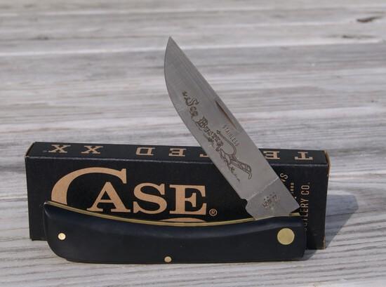 CASE XX BLACK SOD BUSTER KNIFE NEW IN BOX